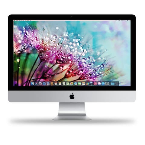 "Apple 27"" iMac with Retina 5K Display (Mid 2017) - silver"