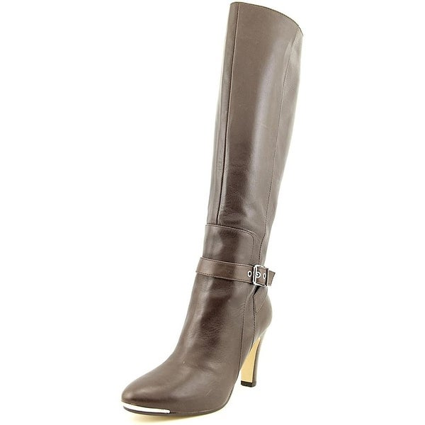 Marc Fisher Ibis Leather Knee High Boot - 10