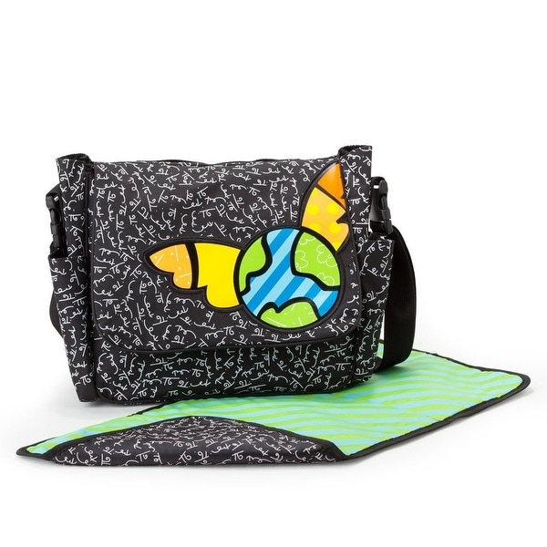 Gund Baby Britto Bebe From Enesco 10.5 inch Diaper Messenger Bag