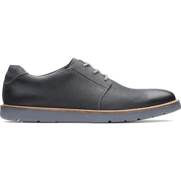Grandin Plain Toe Sneaker Black Leather