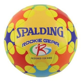 Spalding Size 3 Rookie Gear Soccer Ball (Yellow)