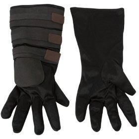 Star Wars Animated Anakin Gloves Child - Black