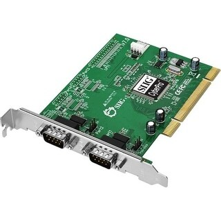 Siig Cyberserial 2-Port Pci Serial Adapter