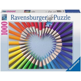 Color My Heart 1000 Piece Puzzle
