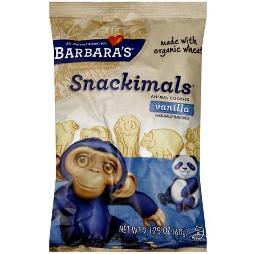 Barbara's Bakery - Vanilla Snackimals Cookies ( 18 - 2.125 OZ)