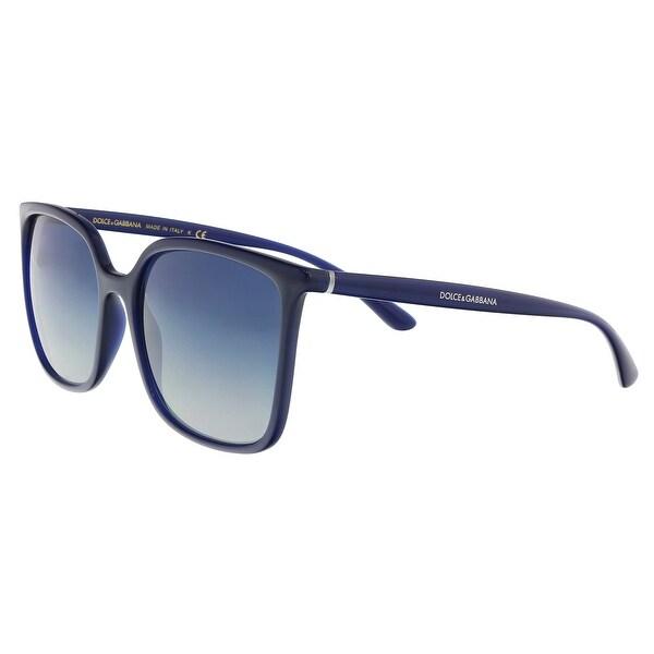 494c0e50224 Shop Dolce   Gabbana DG6112 30944L Opal blue Square Sunglasses - 56 ...
