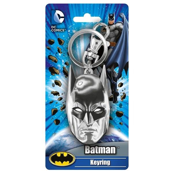 DC Comics Batman Mask Pewter Key Ring - Multi