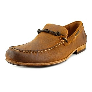 Frye Henry Knotted Round Toe Leather Loafer
