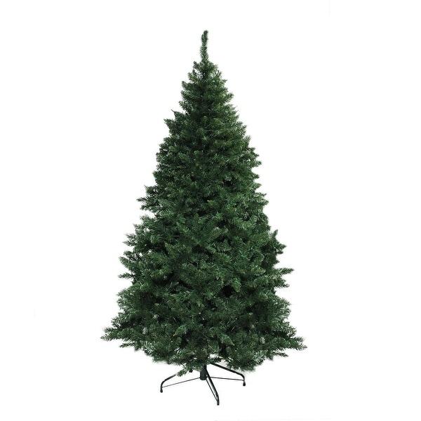 """6.5' x 49"""" Buffalo Fir Medium Artificial Christmas Tree - Unlit - green"""