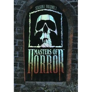 Masters of Horror - Masters of Horror: Season One Box Set, Vol. 2 [6 Discs] [DVD]