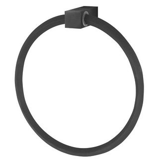 Alno A7140 6 Inch Diameter Towel Ring from the Spa II Collection - n/a