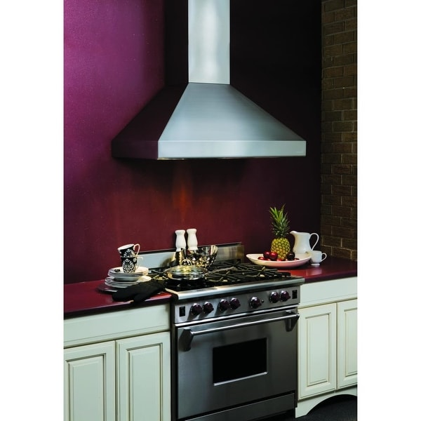 Vent A Hood Neph18 248 600 Cfm 48 Euro Style Wall