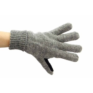 Mens Nice Woolen Gloves With Grippy Palm
