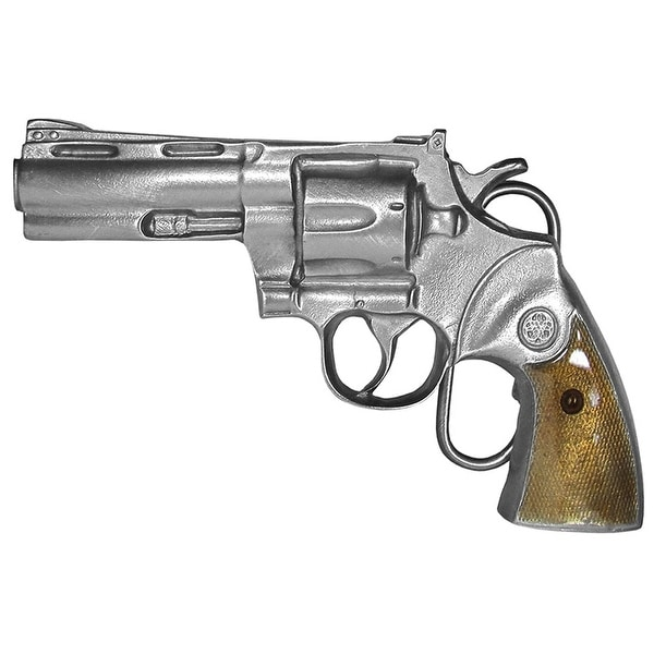 Magnum Revolver Belt Buckle - One size