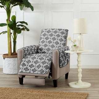 Link to Great Bay Home Printed Reversible Recliner Furniture Protector Similar Items in Slipcovers & Furniture Covers