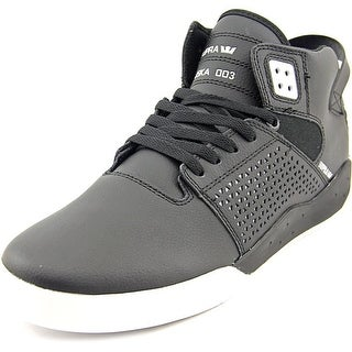 Supra Skytop III Round Toe Leather Fashion Sneakers