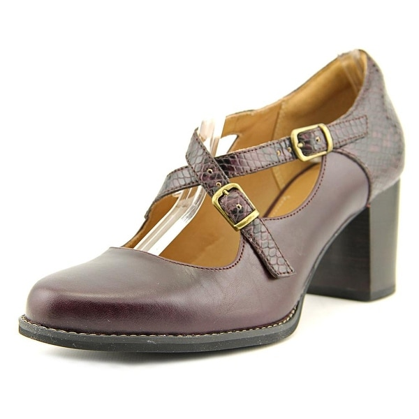 Clarks Narrative Tarah Presley Women  Round Toe Leather  Heels