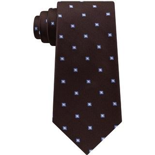 Link to Club Room Mens Geometric Self-Tied Necktie - One Size Similar Items in Ties