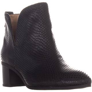 08b8f109e90 Franco Sarto Womens Owens Leather Closed Toe Ankle Fashion Boots. Quick View
