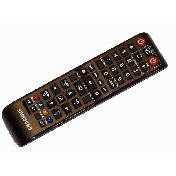 OEM Samsung Remote Control Originally Shipped With: BDES5300, BD-ES5300, BDHM51/ZA, BD-HM51/ZA, BDJM51/ZA, BD-JM51/ZA
