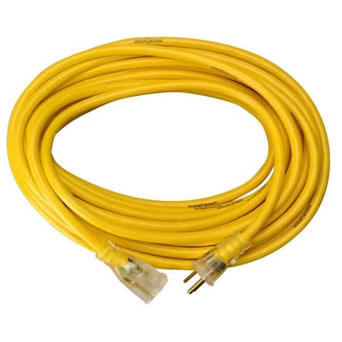Yellow Jacket 2884AC Commercial Extension Cord, 50', Yellow