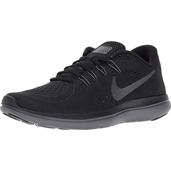 1cc78dc1b2834a Nike Flex RN 2017 Black Metallic Hematite Anthracite Dark Grey Women  x27