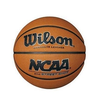 Wilson Unisex Ncaa Street Shot, Brown, 27.5