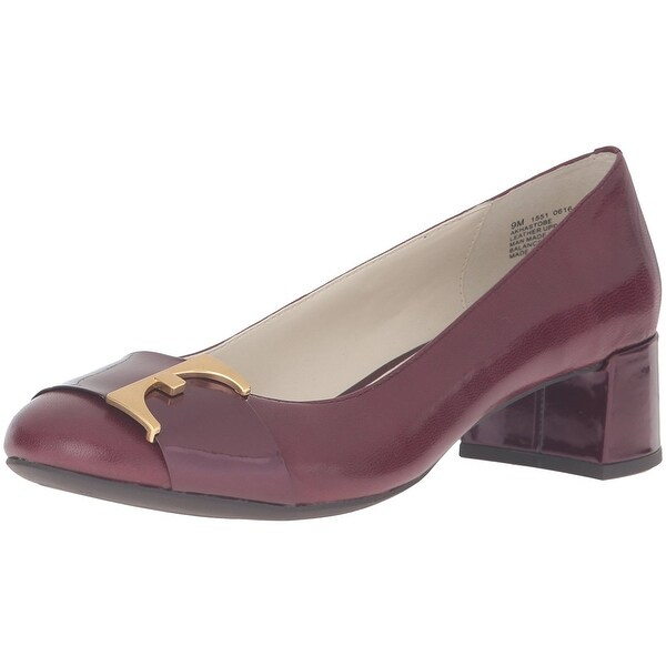 Anne Klein Womens HasToBe Fabric Closed Toe Classic Pumps