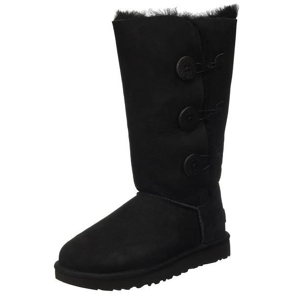 18e1d22f859 Shop UGG Women's Bailey Button Triplet II Winter Boot - Free ...