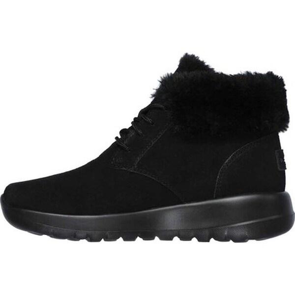 GO Joy Lush Ankle Boot Black