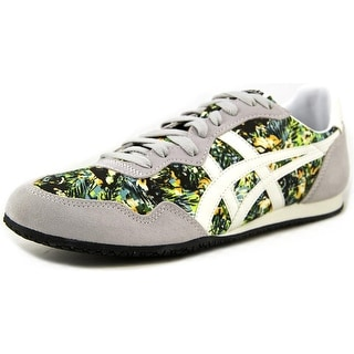 Onitsuka Tiger by Asics Serrano Men Round Toe Suede Gray Sneakers