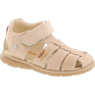 Primigi Boys 7078 Leather Fisherman Sandal With Closed Toe And Closed Back