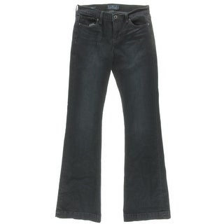 Lucky Brand Womens Brooke Stretch Mid-Rise Flare Jeans