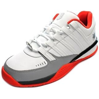 K-Swiss Baxter Men Round Toe Leather Sneakers