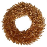 "36"" Copper Fir Wreath 320T"