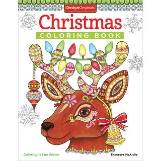 Design Originals-Christmas Coloring Book