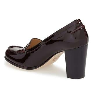 b8546dec879 Michael Michael Kors Womens Bayville Loafer Closed Toe Classic Pumps
