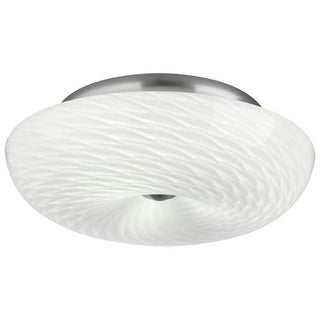 "Forecast Lighting F606436 3 Light 16"" Wide Flush Mount Ceiling Fixture from the Inhale Collection"
