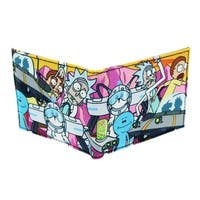 Rick and Morty Bifold Wallet - Multi