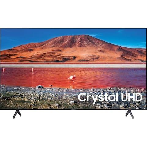"Samsung Class TU7000 Crystal 4K (3840x2160) 43"" Smart LED HDR TV,Black (New Open Box)"