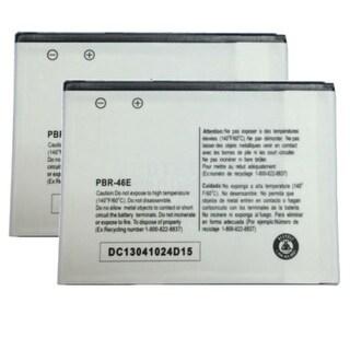 Battery for Pantech PBR-46E (2-Pack) Battery for Pantech PBR-46E