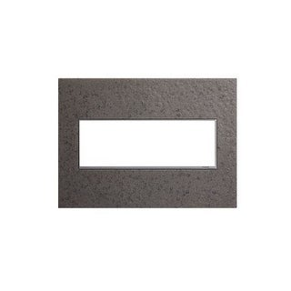 Legrand AWM3GHFFE1 adorne Hubbardton Forge 3 Gang Hand-Forged Metal Wall Plate - 7.1 Inches Wide