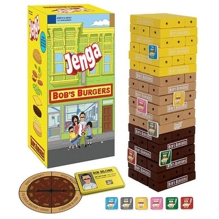 Bob's Burgers Jenga Game - multi