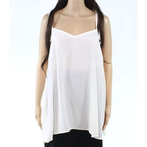 Sejour NORDSTROM Womens Top White Ivory Size 18W Plus V-Neck Cami