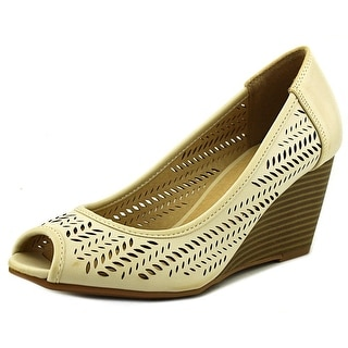 CL By Laundry Nice Game Women Open Toe Synthetic Wedge Heel