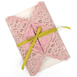 Sizzix Thinlits Die-Rose Lace Gatefold Card