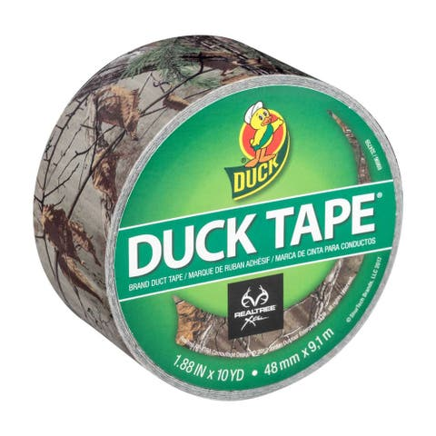 """Duck 241744 Realtree Xtra Camo Duct Tape, 1.88"""" x 10 Yd"""
