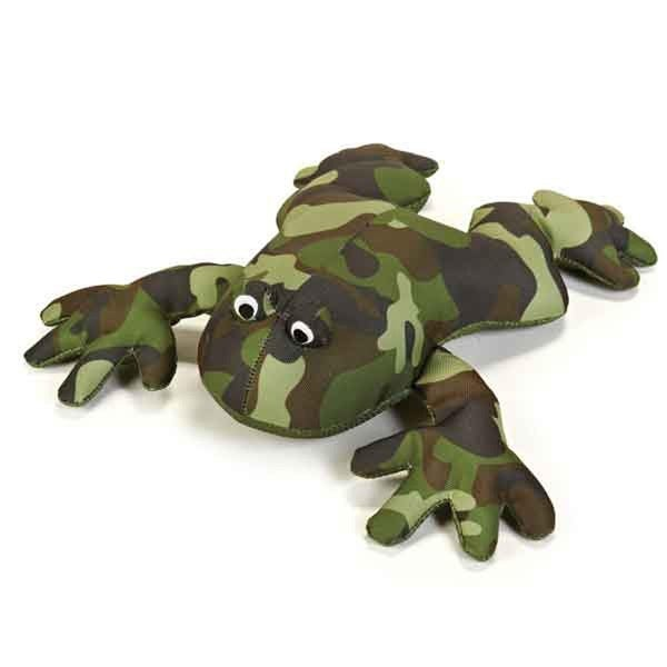 Shop Grriggles Giant Camo Dog Toy Frog One Size Free Shipping