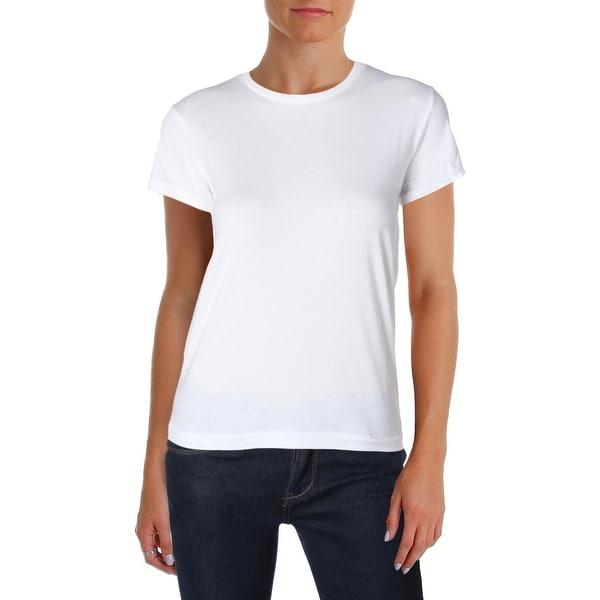 Shop Polo Ralph Lauren Womens T-Shirt Logo Crew Neck - Free Shipping ... b37a819ea