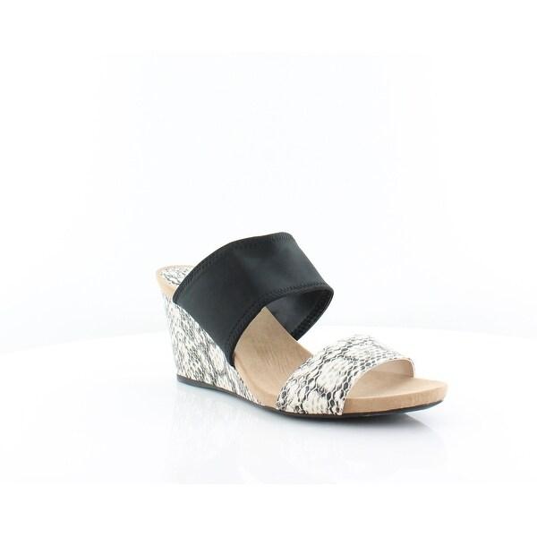Alfani Parrker Women's Sandals & Flip Flops Black/Ivory